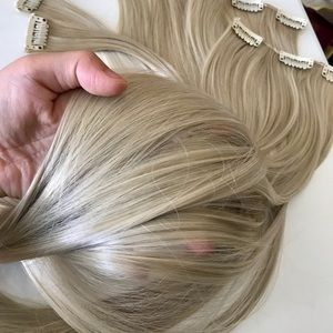 """26"""" 16 Clips hair extension clip in"""